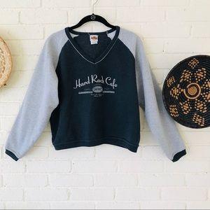 Vintage Hard Rock Cafe Nashville Crop Sweatshirt